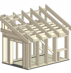 Wood-framed house building — new WorldSkills competency by TechnoNICOL